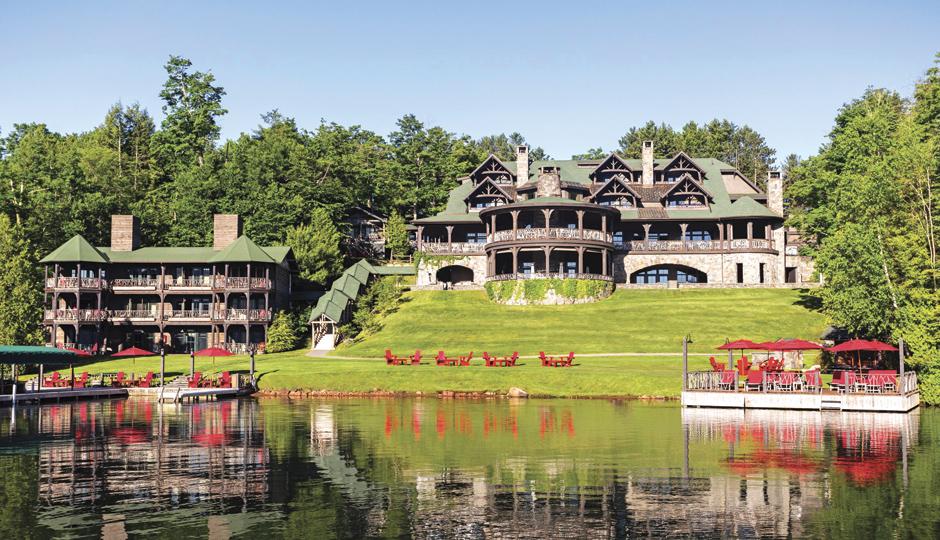 Lake Placid Lodge | Photo courtesy Ocean Properties LLC