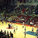 The Palestra - inside view