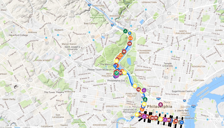 philly free streets map
