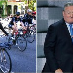 L: Courtesy of The Bicycle Coalition of Philadelphia, R: AP Photo