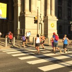 Runners on Run to Work Day 2015 | Photo by Adjua Fisher