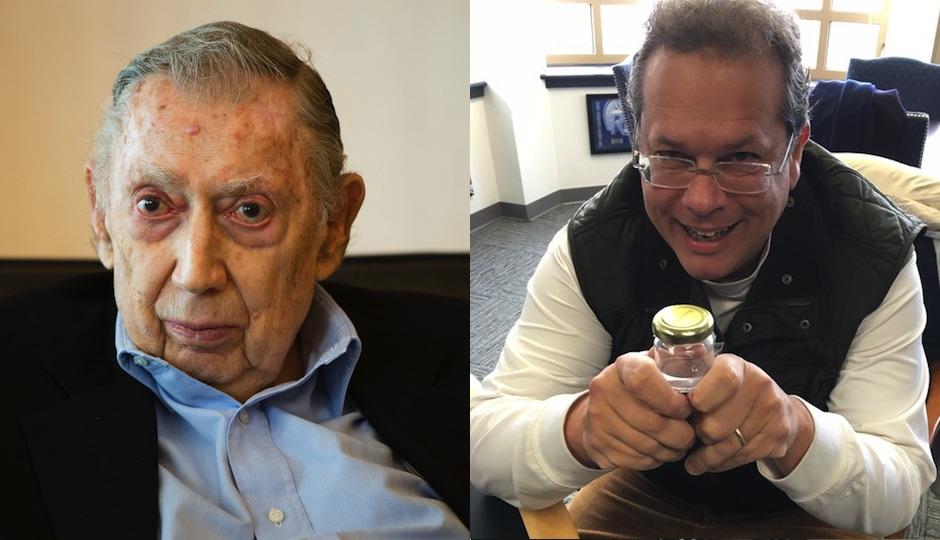 "Left: Attorney Richard ""Dick"" Sprague (AP Photo/Matt Rourke). Right: Ken Smukler in a 2015 photo (Twitter)."