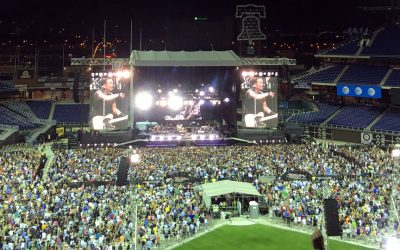 Bruce Springsteen plays at Citizens Bank Park