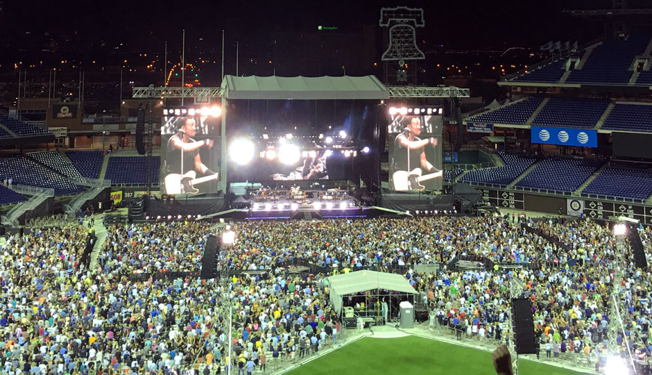Bruce Played His Longest-Ever U S  Show in Philly Last Night
