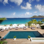 The pool at The Cheval Blanc St. Barth Isle de France