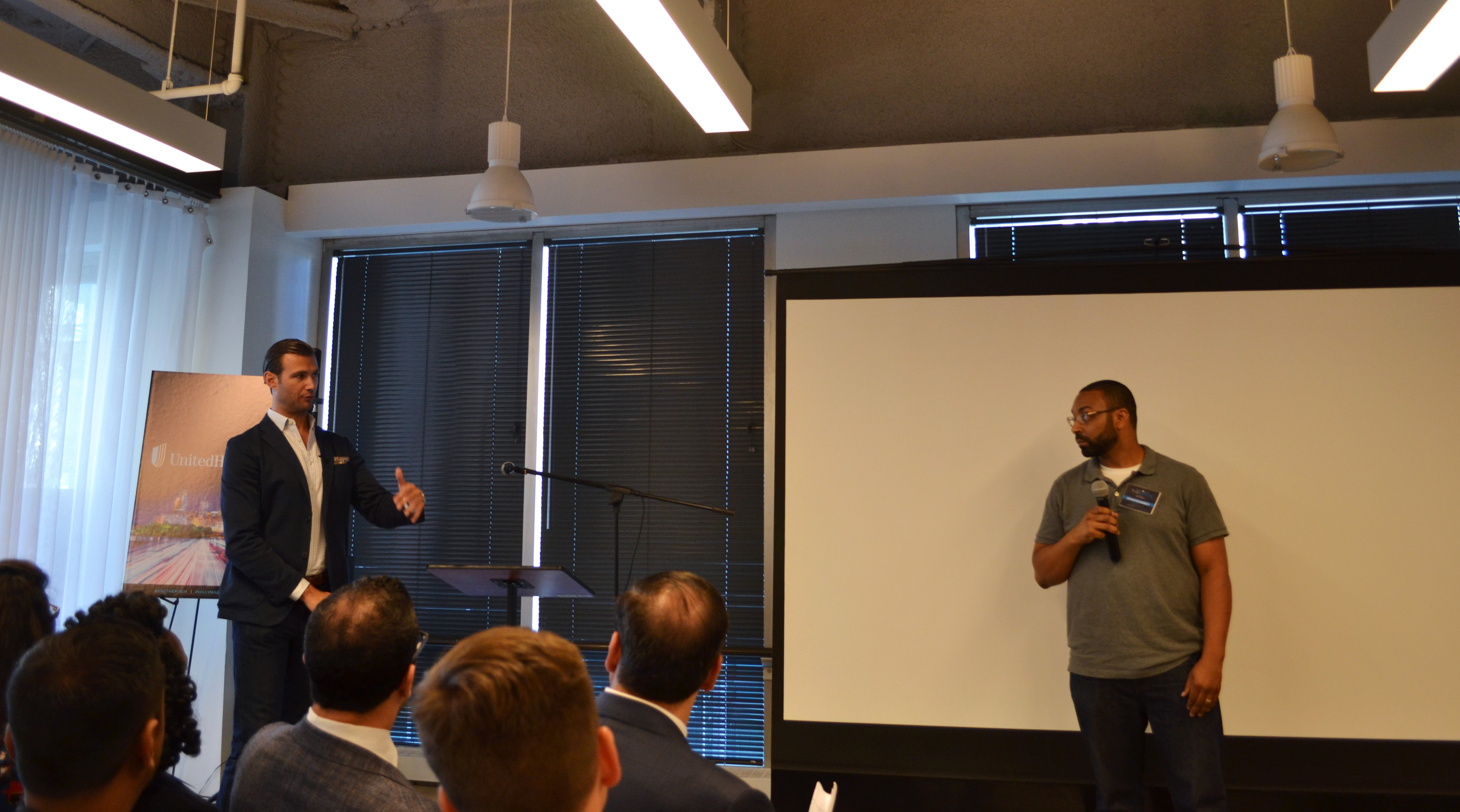 Sylvester Mobley of Coded by U takes a question from Nick Bayer.
