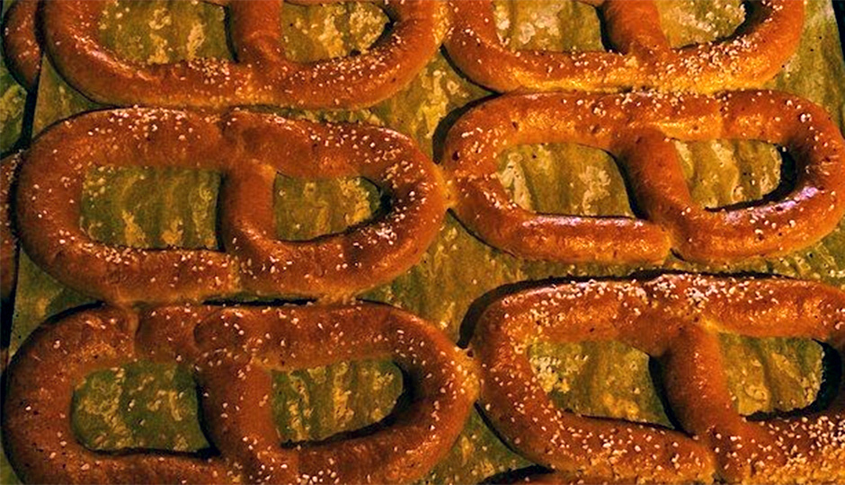 Gluten-free pretzel from Taffets Bakery