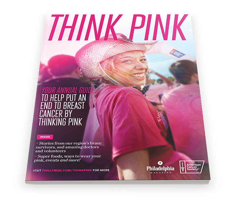Think Pink 2014 section