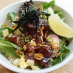 The tuna poke at Hai Street Kitchen