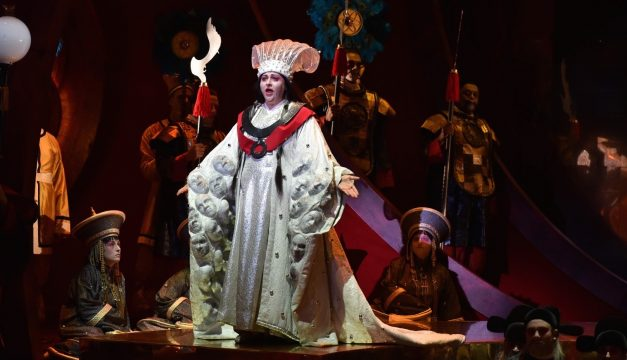 Christine Goerke in Opera Philadelphia's Turandot. (Kelly & Massa Photography)