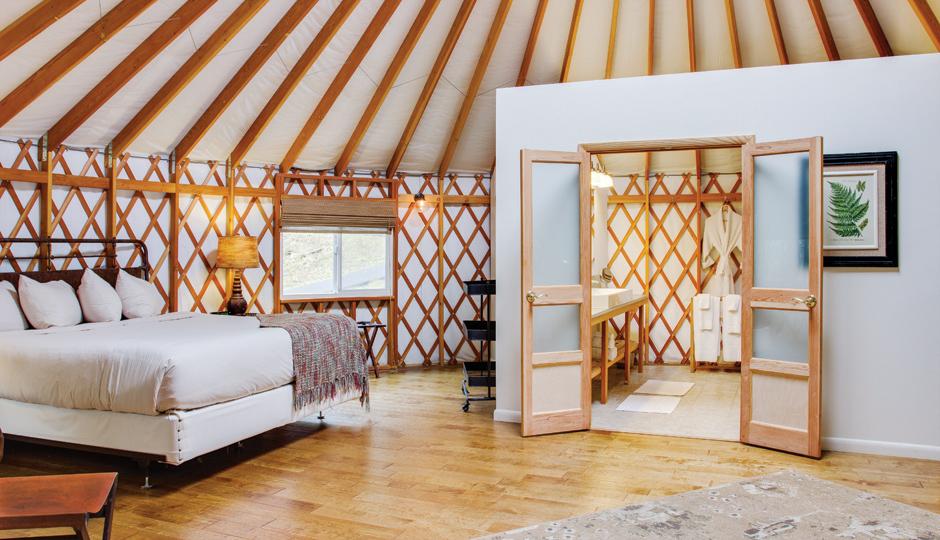 Fall Weekend Getaways Inside A Yurt At Savage River Lodge