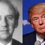 L: Judge Allan Tereshko (Photo via LinkedIn) R: Donald Trump (Photo by X)