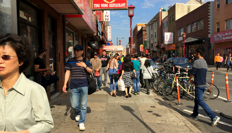 North 10th Street, Chinatown | Photo by Jared Brey