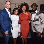Cody Winstead, Comcast SportsNet, Sharrie Williams, 6ABC, Morrisa Jenkins and Malcom Jenkins, The Malcolm Jenkins Foundation. Their mission is to effectuate positive change in the lives of youth, particularly those in underserved communities.