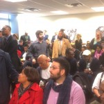 Part of the overflow crowd that attended last nights Human Relations Commission hearing. | Photo: Sandy Smith