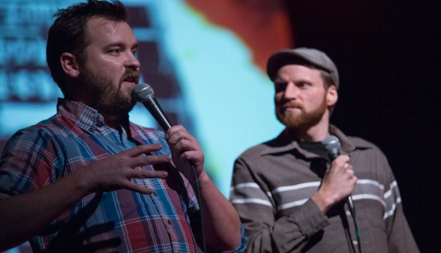 Joe Pickett and Nick Prueher are bringing their Found Footage Festival to the new Good Good Comedy Theatre.