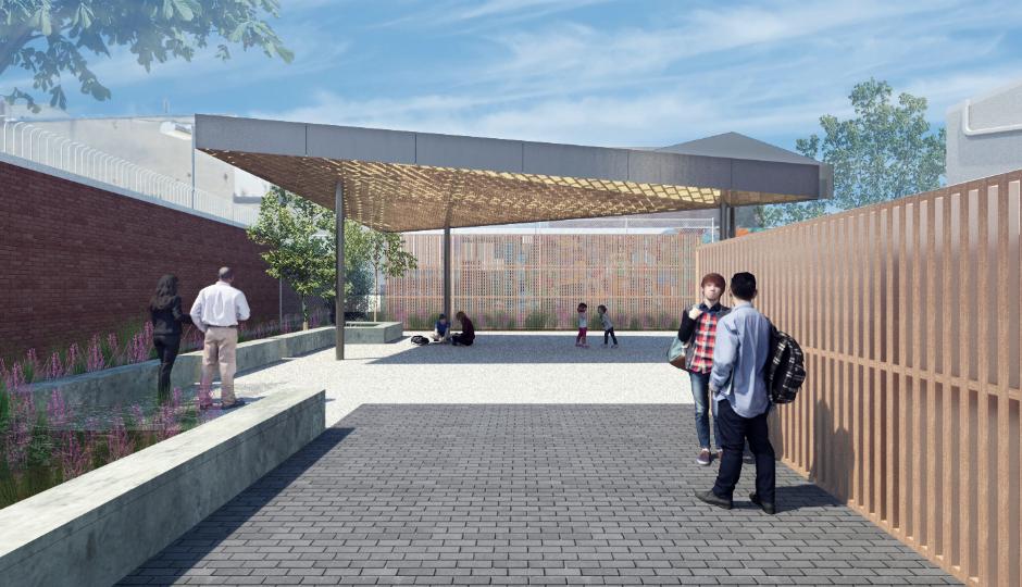 Northern Liberties Community Center Pavilion | KieranTimberlake Associates