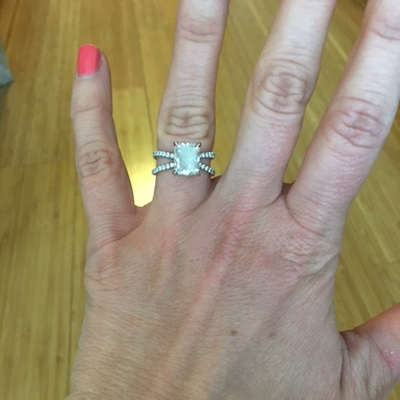 Leigh's ring!