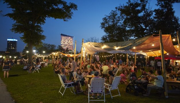Parks on Tap pops up at Lemon Hill this weekend. Photo by Albert Yee