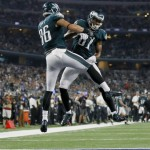 Zach Ertz and Jordan Matthews. (USA Today Sports)