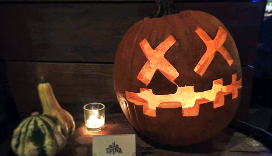 Alla Spina moves its industry up a week to coincide with Halloween and Craft Spirits Week.