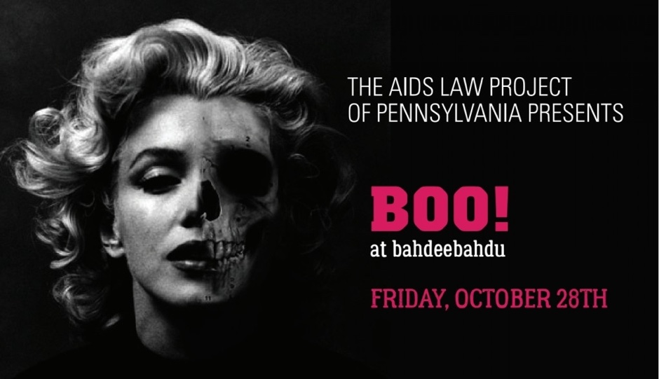 "The AIDS Law Project presents their 3rd annual ""Boo at Bahdeebahdu."""