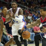Brandon Paul is among the players fighting for the Sixers final roster spot | Bill Streicher-USA TODAY Sports