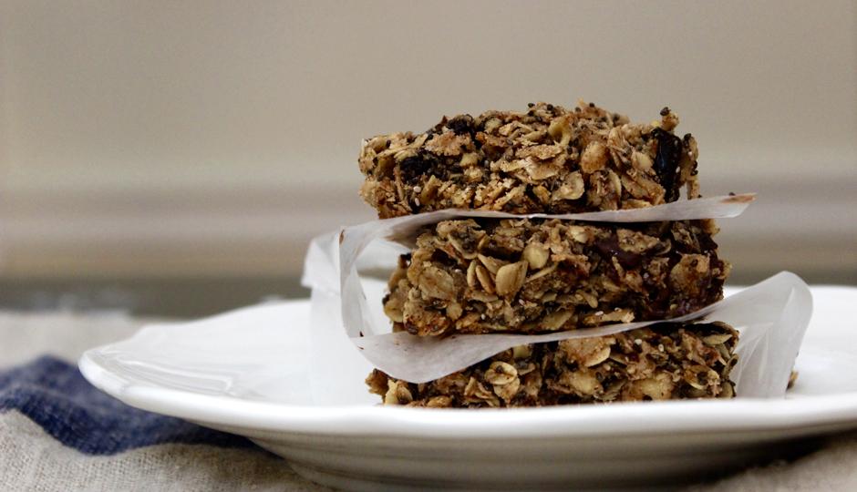 Chocolate Cherry Chia Granola Bars TasteSpotting  TasteSpotting