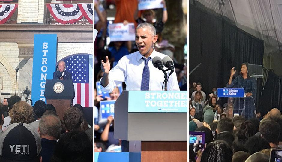 Joe Biden; Barack Obama; Michelle Obama