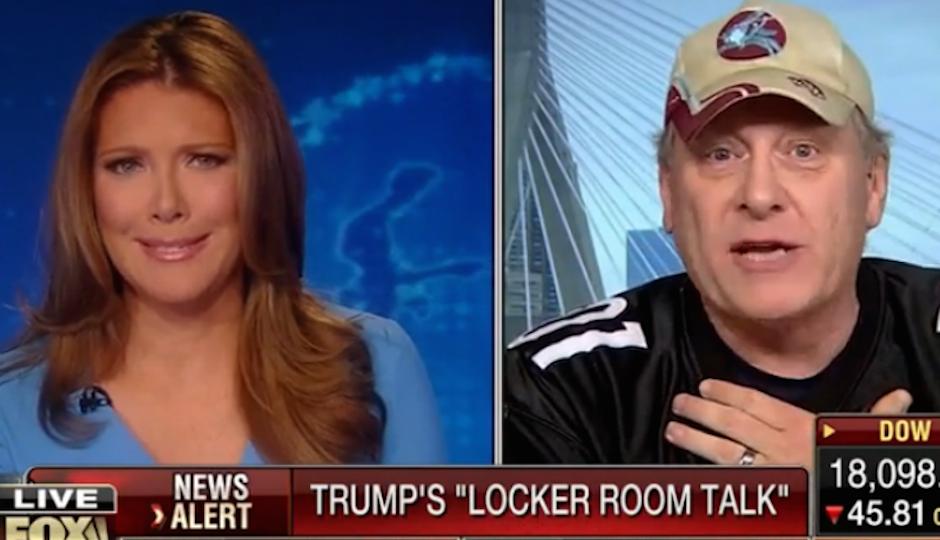FOX Business Network host Trish Regan spars with Donald Trump pal Curt Schilling.