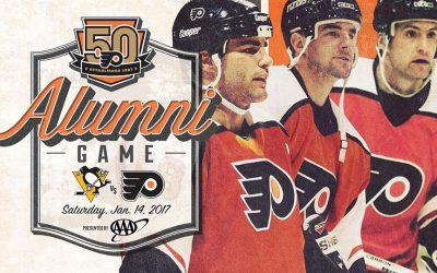 Flyers Legion of Doom line - alumni game