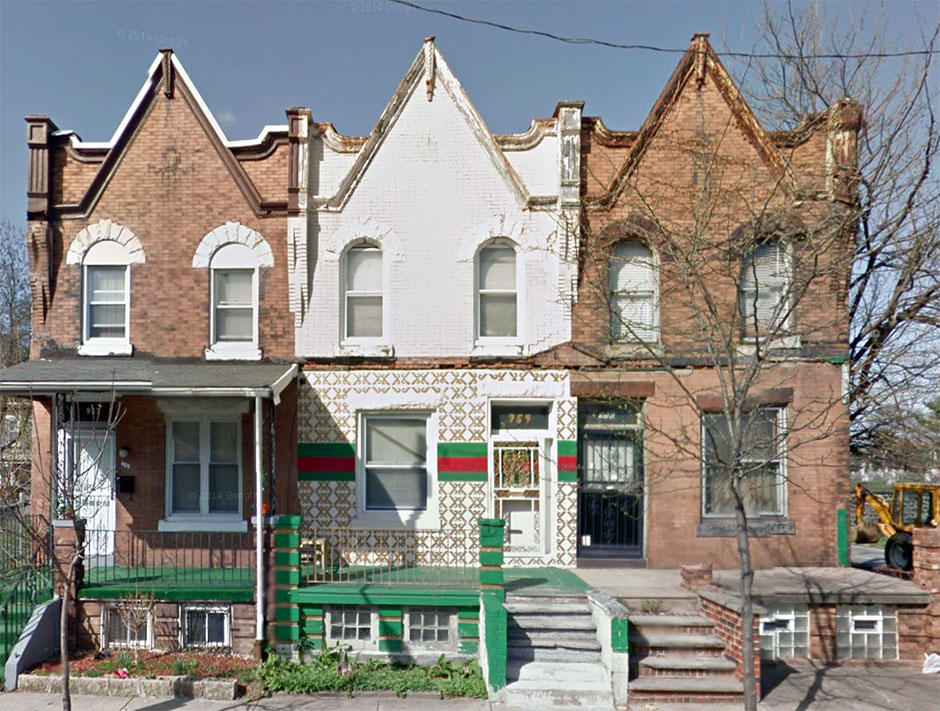 Gucci House in West Philly