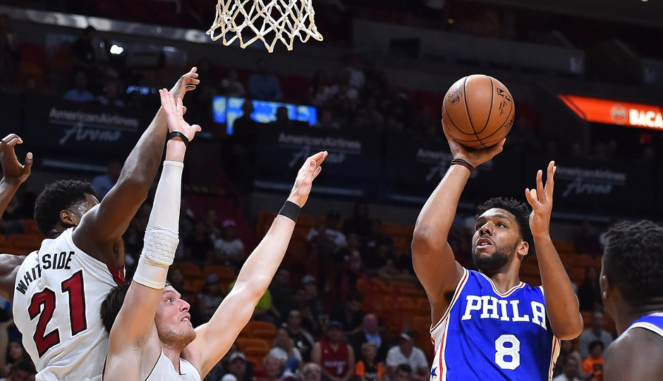 Can the 76ers play Jahlil Okafor and Joel Embiid at the same time? | Jasen Vinlove-USA TODAY Sports