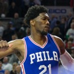 Joel Embiid's 20 points and 7 rebounds weren't enough as the Sixers fell to the Thunder 103-97 | Bill Streicher-USA TODAY Sports