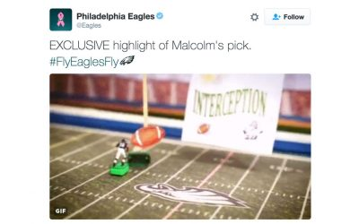 Malcolm Jenkins - interception tweet