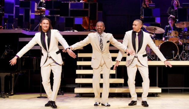Maurice Hines is Tappin' Thru Life is playing through November 20th at the Penn's Landing Playhouse.  Photo by Matt Urban/Mobius New Media