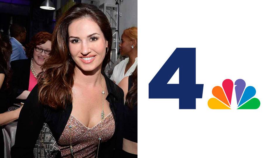 Sheena Parveen; NBC 4 logo