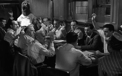 12 Angry Men parody - 11 men with the Phanatic photoshopped in