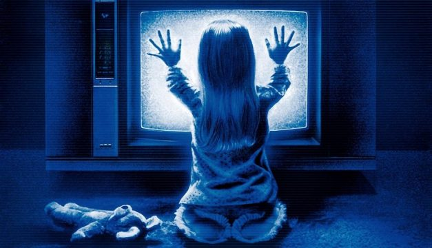 Watch Poltergeist at The Piazza at Schmidt's Commons.