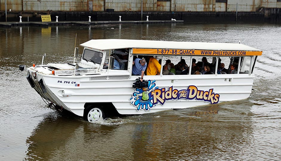 Ride The Ducks Tour Vehicle
