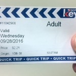 SEPTA Quick Trip ticket