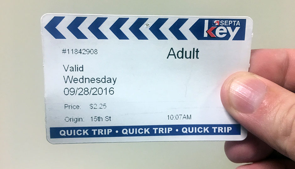 I've Been Paying for SEPTA With a Credit Card and It's Great