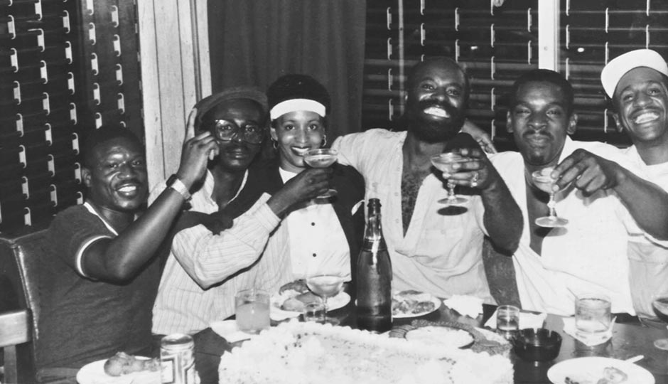 In the mid-1980s, two Center City bars, both outside today's Gayborhood, catered to an African-American clientele. This photo is from The Smart Place, which was located on Arch Street in Chinatown. Photo from the collections of the John J. Wilcox, Jr. Archives at the William Way LGBT Community Center