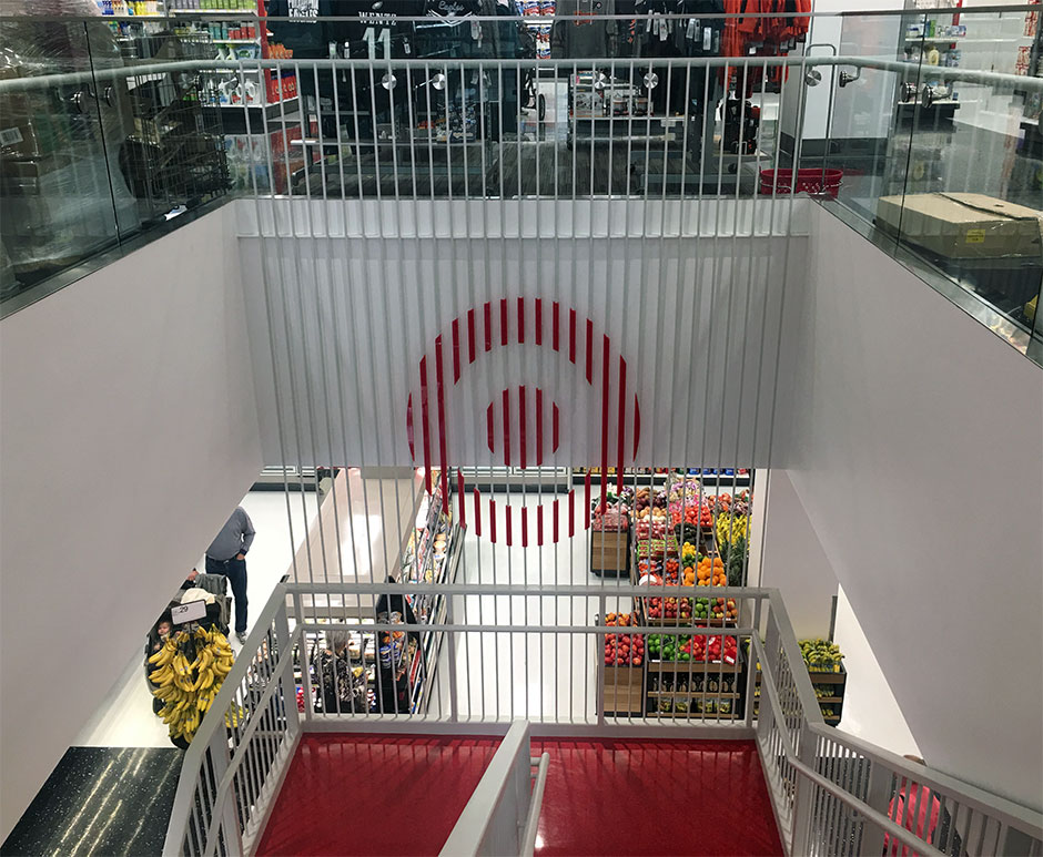 Target stairs