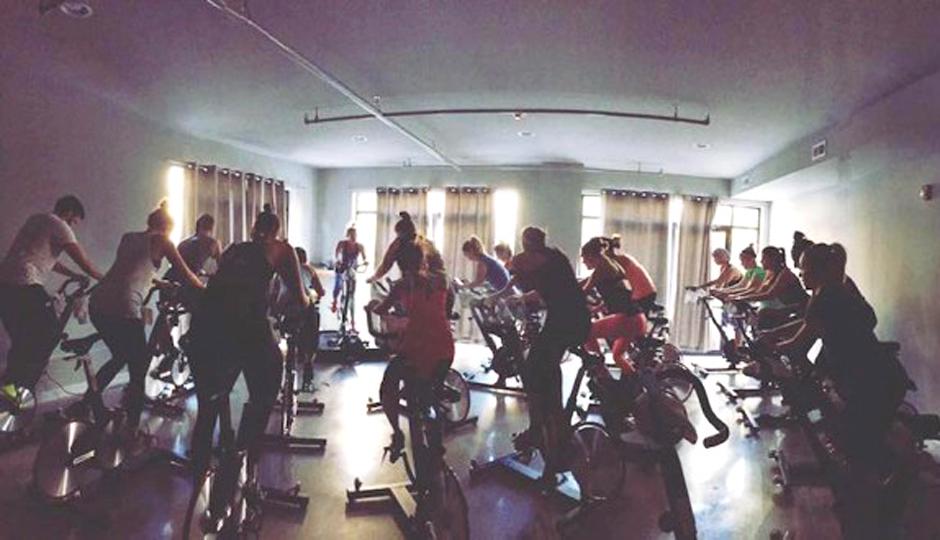 The Wall Cycling Studio | Photo via Facebook