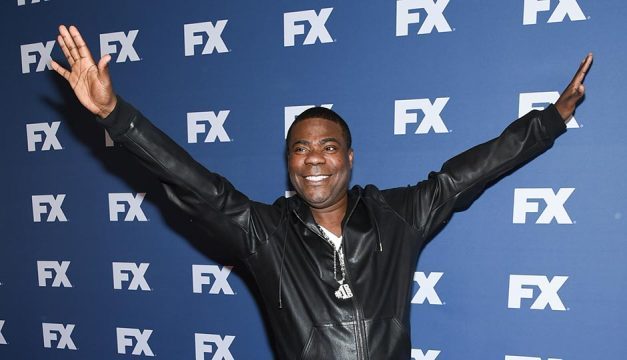 Tracy Morgan attends FX Networks upfront premiere of The People v. O.J. Simpson: American Crime Story on March 30, 2016, in New York. Photo by Evan Agostini/Invision/AP
