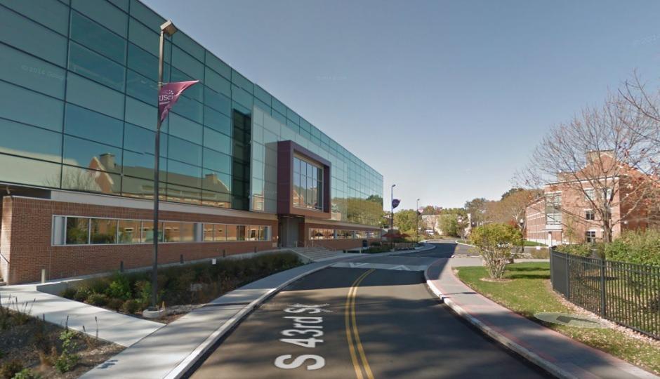 University of the Sciences, via Google Maps