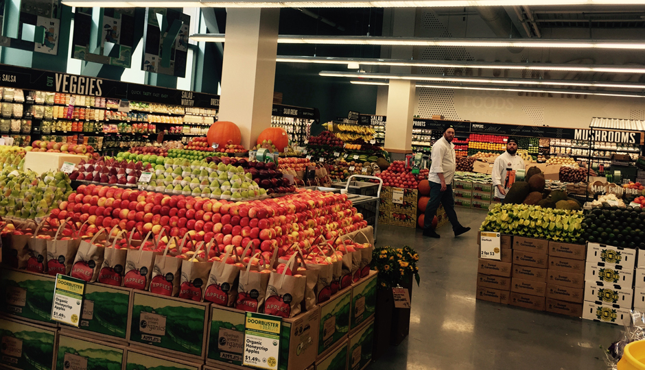 The new produce section at Pennsylvania Avenue's new Whole Foods Market | Photo by Adjua Fisher
