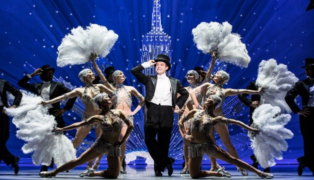 An American in Paris touring company. Photo by Matthew Murphy