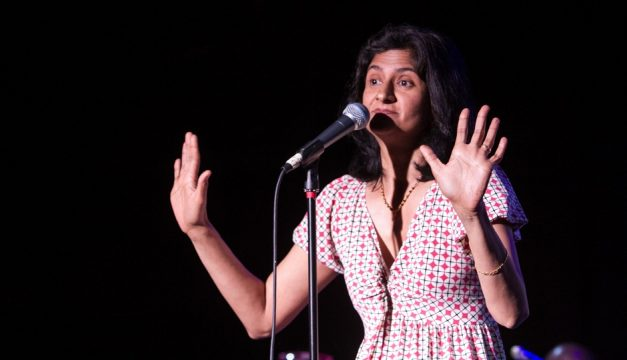 Nimisha Ladva will perform Uninvited Girl: An Immigrant Story on November 15th. Photo by Jen Cleary